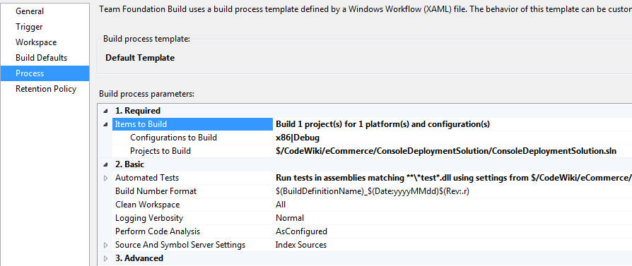 If you are using MSBuild, you'll need to create a Build definition for the new solution.