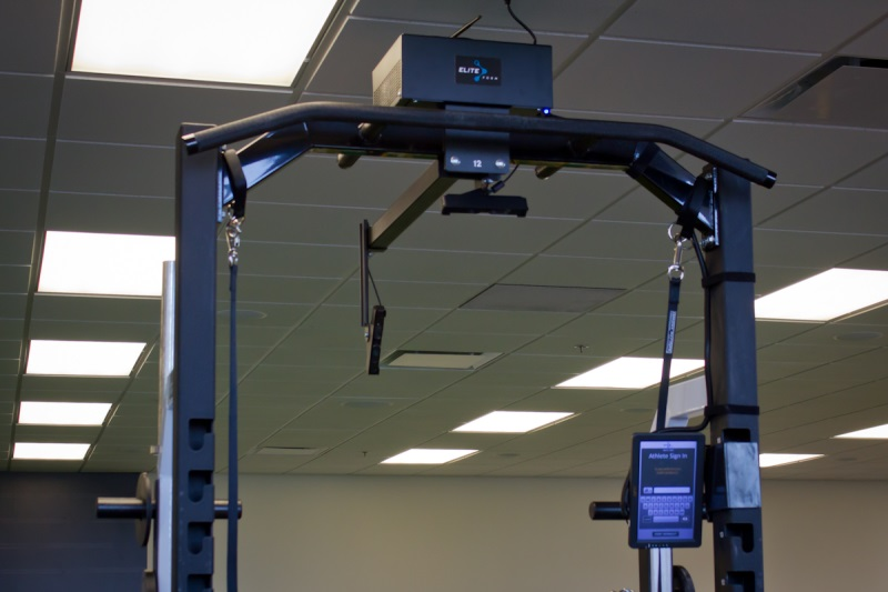 PowerTracker installed at a rack