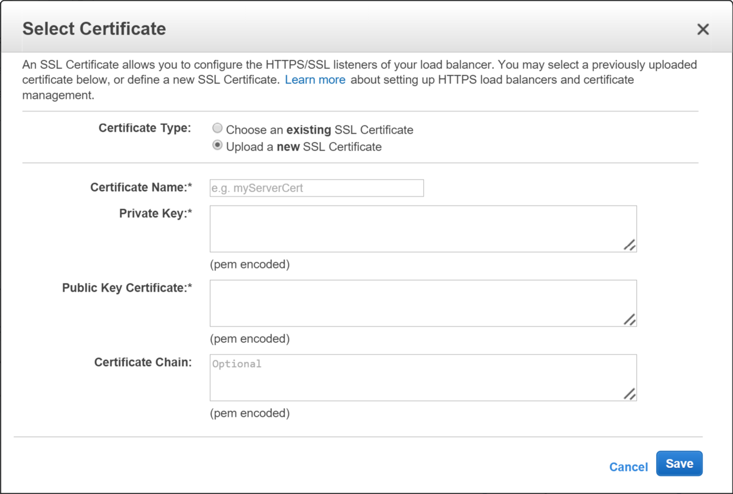 Getting Ssl Certificates On Aws Elastic Load Balancers In Windows