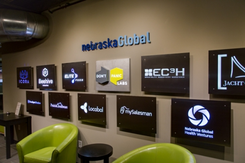 Nebraska Global / Don't Panic Labs entryway