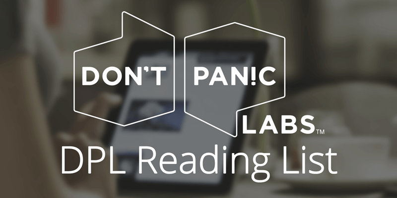 Don't Panic Labs Reading List