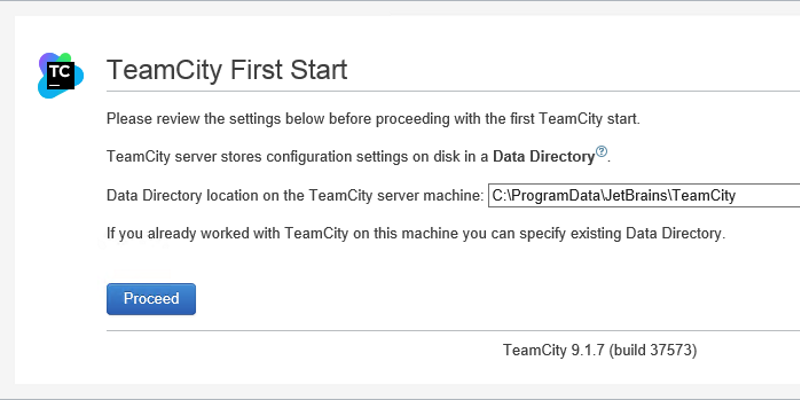 Setting Up Continuous Integration with TeamCity