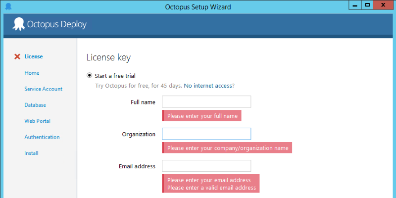 Setting Up Octopus Server
