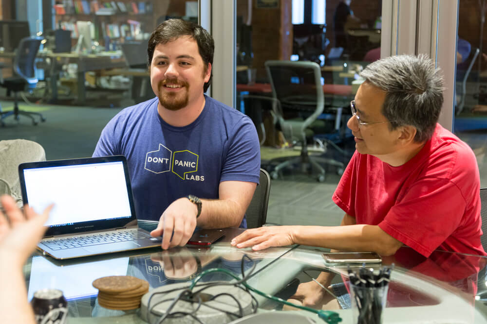 software engineering at Don't Panic Labs