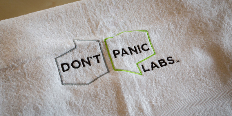 Don't Panic Labs Celebrates Towel Day by Collecting Towels for People's City Mission
