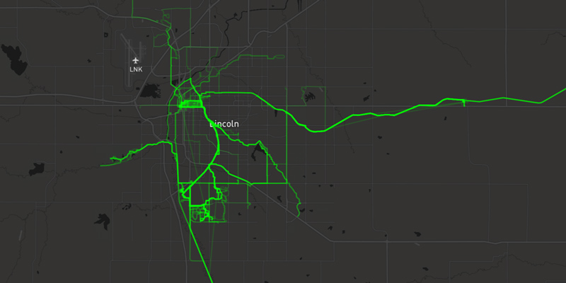 Mapbox – Visualizing Workout Activities