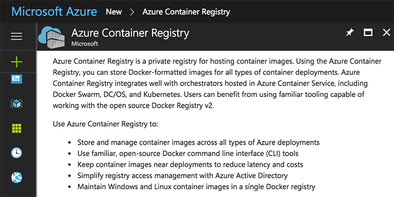 Azure's Container Registry with Docker (Quickstart!)