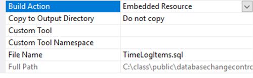 database change control