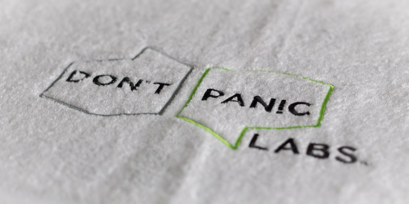 Don't Panic Labs Towel Day 2018
