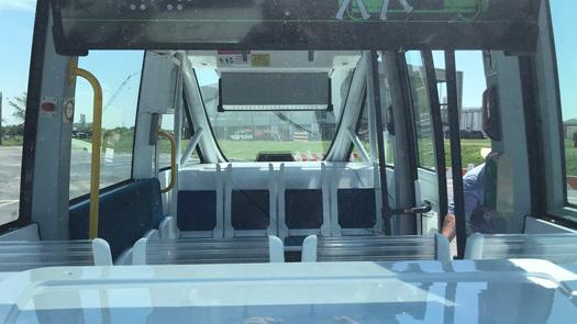 autonomous shuttle in Lincoln, Nebraska