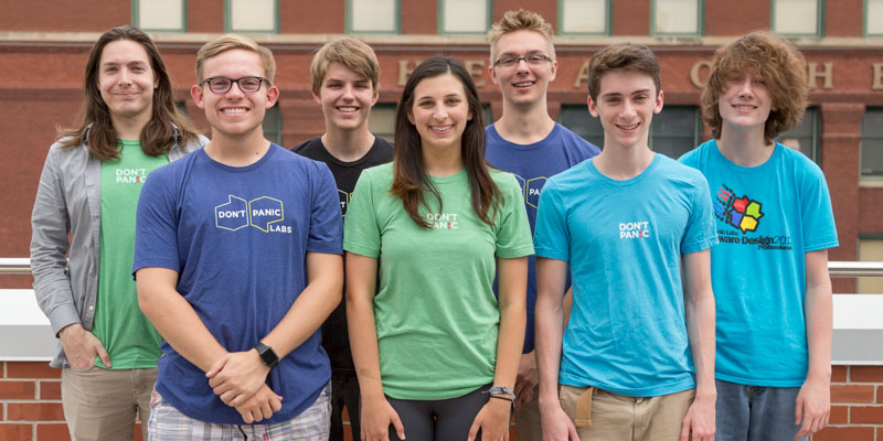 2018 Don't Panic Labs interns