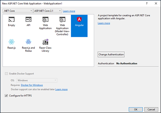 Angular Template | Quick Look Net Core 2 1 Angular Template Don T Panic Labs