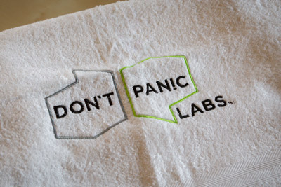 Don't Panic Labs towel