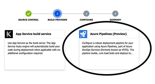 click Azure Pipelines