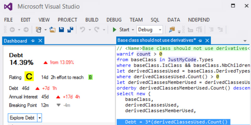 NDepend: Powerful Static Code Analysis