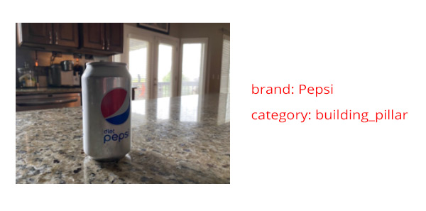 Image of Diet Pepsi can and accompanying analysis