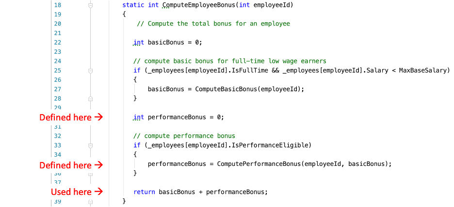 similar analysis for the performanceBonus variable in our method
