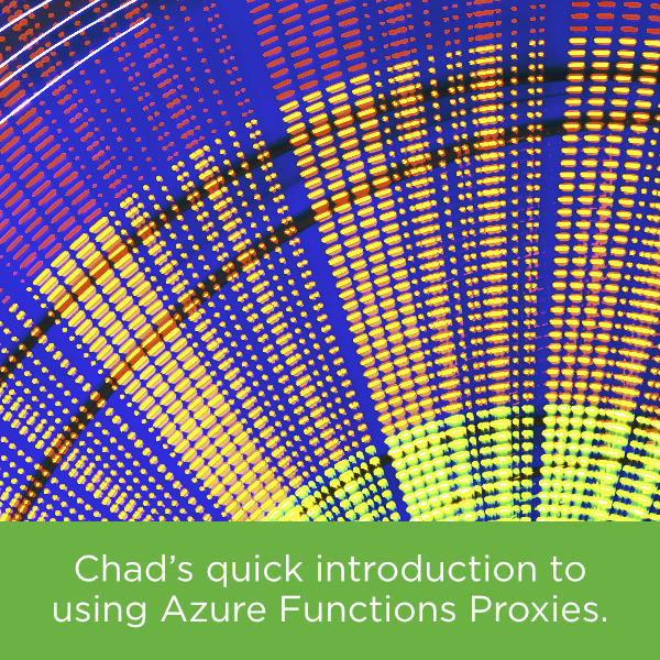 Using Azure Functions Proxies